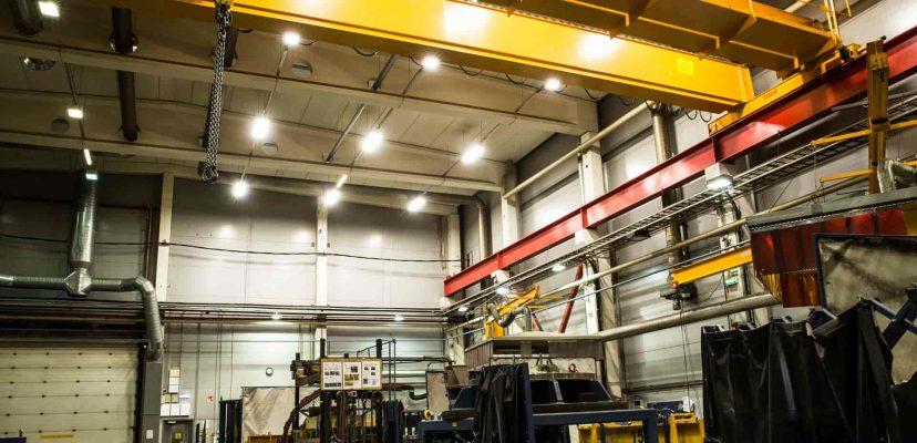 tehokkaat LED-teollisuusvalaisimet